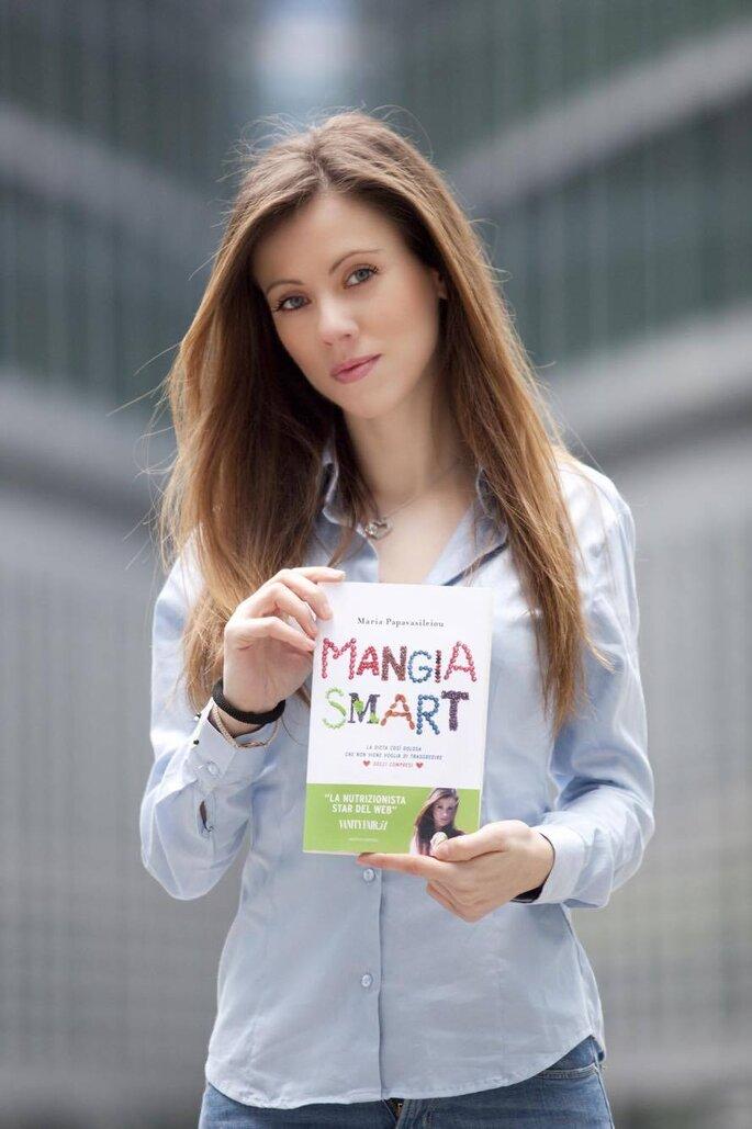 "La Dott.ssa Maria Papavasileiou e il suo ultimo libro ""Mangia Smart"""