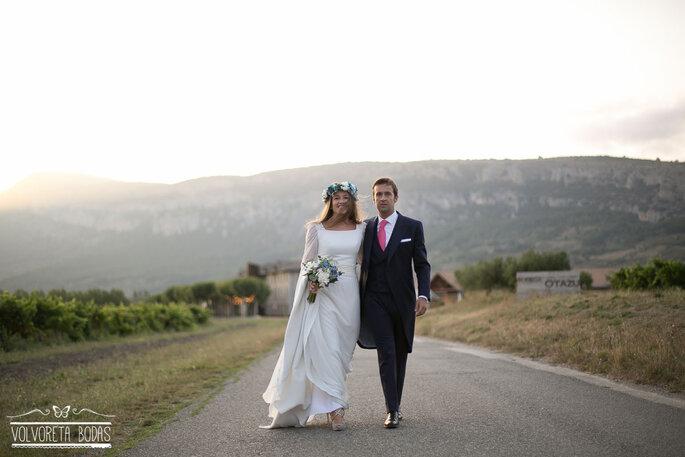 Foto. Volvoreta bodas.