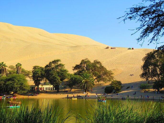 Oasis de Huacachina | Foto: J. D. Benthien