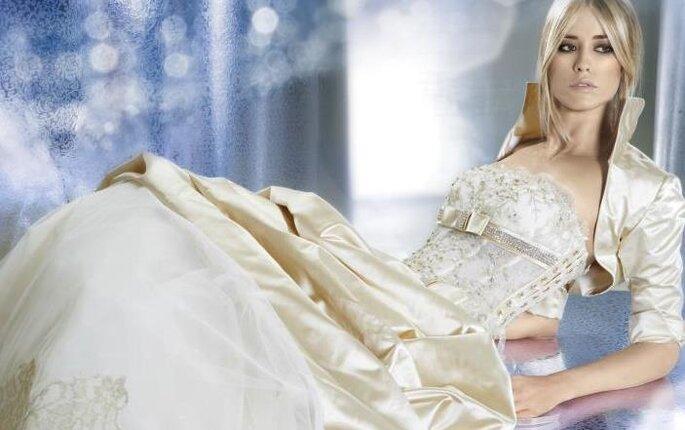 Modello Avor di alessandro couture