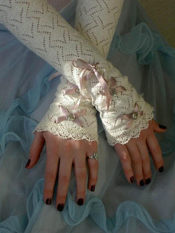 otro modelo de guantes largos sin dedos