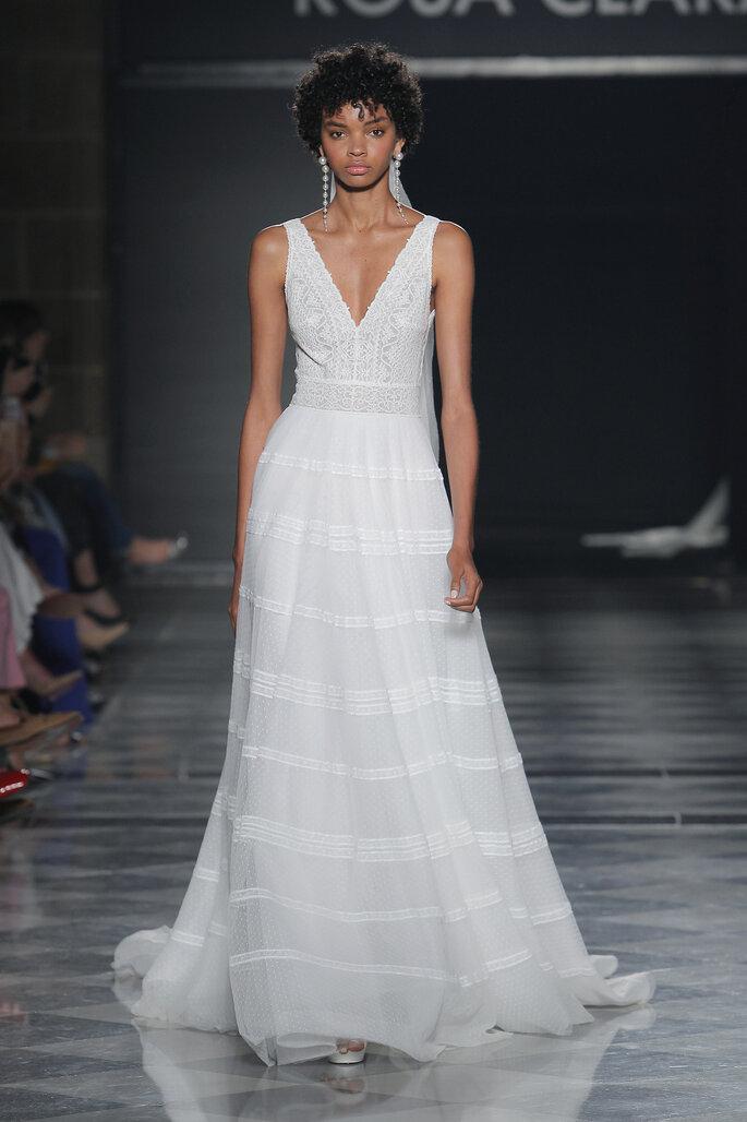 Vestidos de novia escote en V