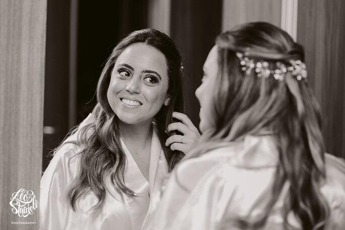 Acessório cabelo da noiva: Alessandra Cazzaro - Foto: Leo Staccioli Photography