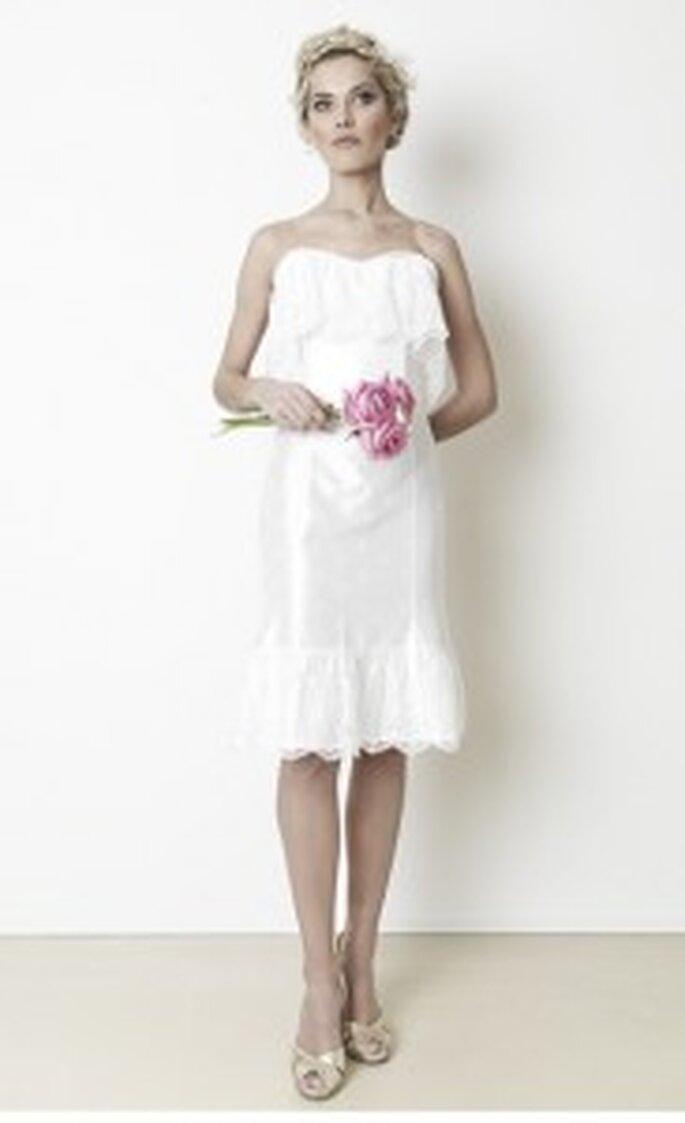 """schmittundschaefer Hochzeitsdirndl: """"little white wedding"""""""