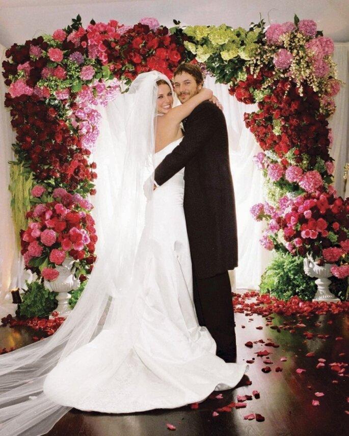 La boda con Kevin Federline