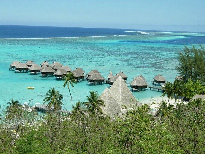 La Polynésie, une des destinations phares pour les mariés de 2012