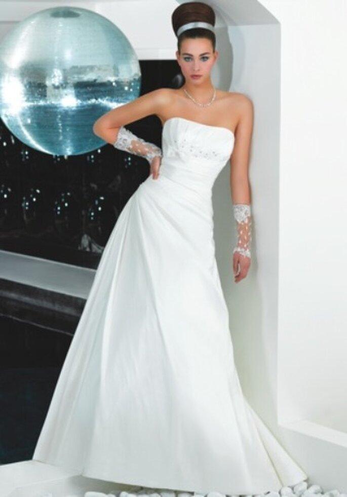 Kollektion Just For You 2012 Schlichte Brautkleider Mit