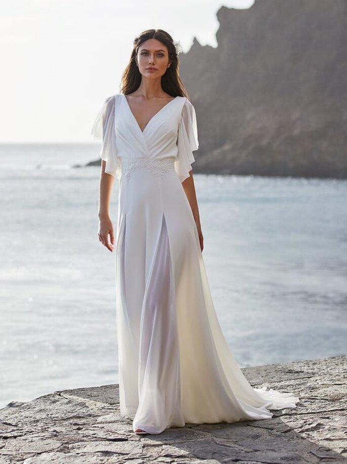 Robe de mariée bohème originale