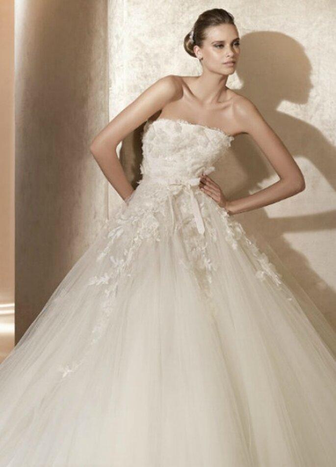 Vestido de novia de Elie Saab para Pronovias. Foto: Pronovias
