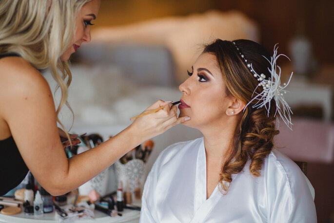 Acessório de cabelo da noiva: Patrícia Lacerda - Fotografia: Alexandre Rechtman