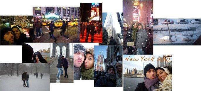 ...e em NY!