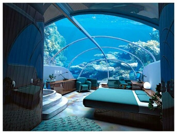 Hotel Istanbul bajo el agua en las Islas Fidjí