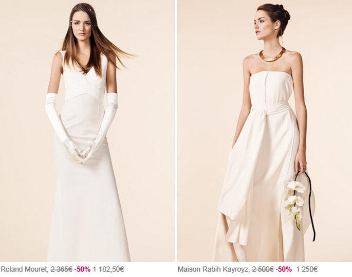 Soldes de robes de mariée au Printemps Haussmann