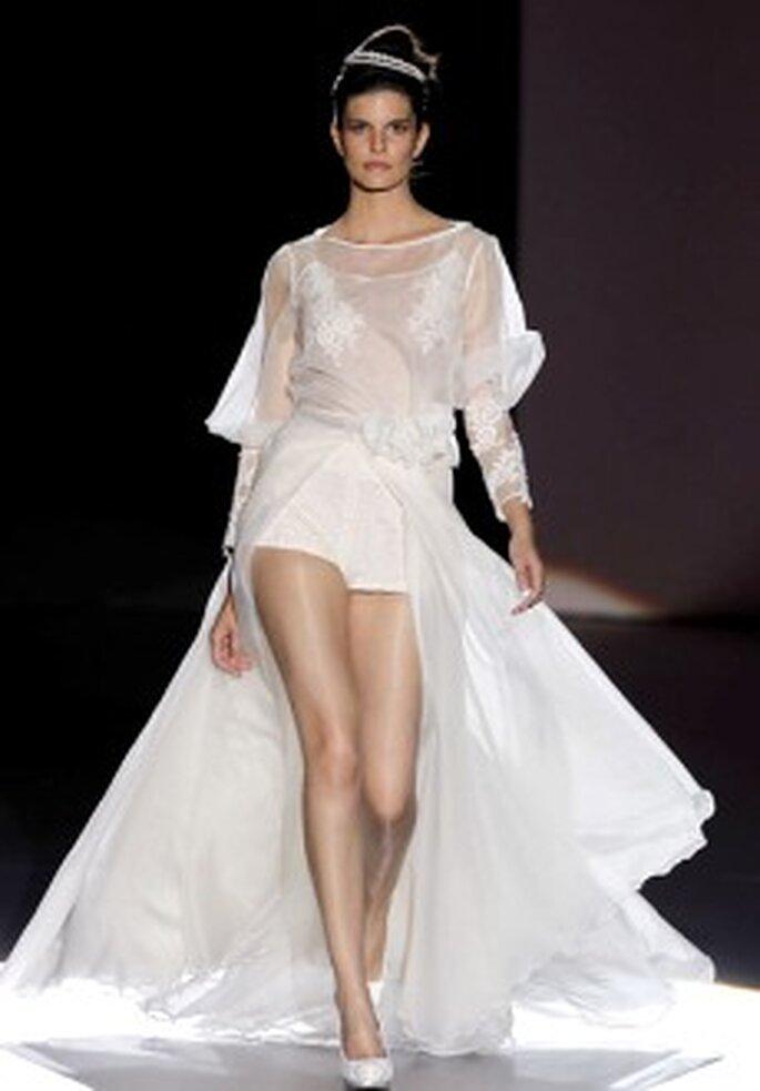 Colección de vestidos de novia cortos Novissima 2011