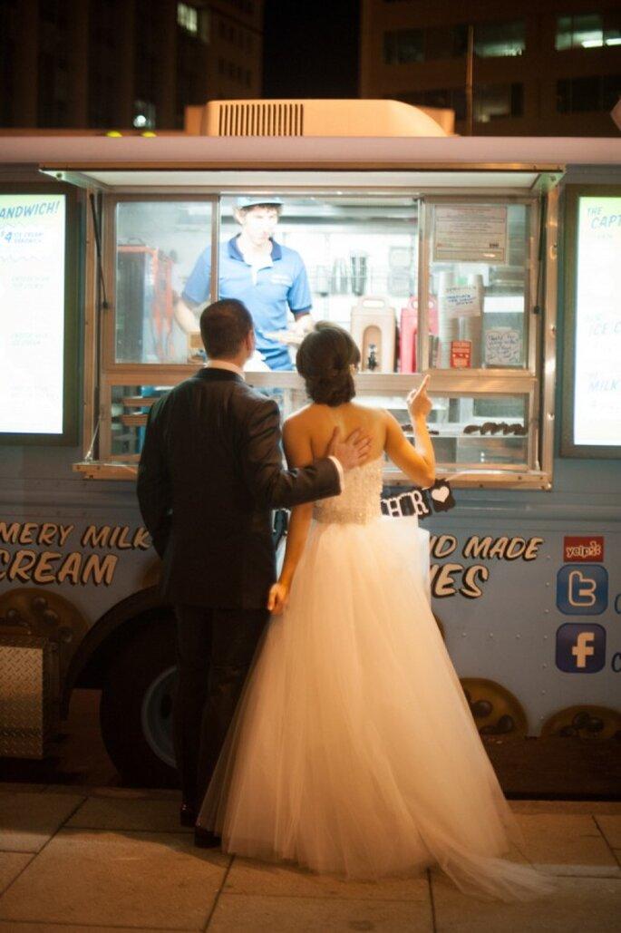 Food trucks para tu banquete de bodas - Foto Abby Jiu Photography