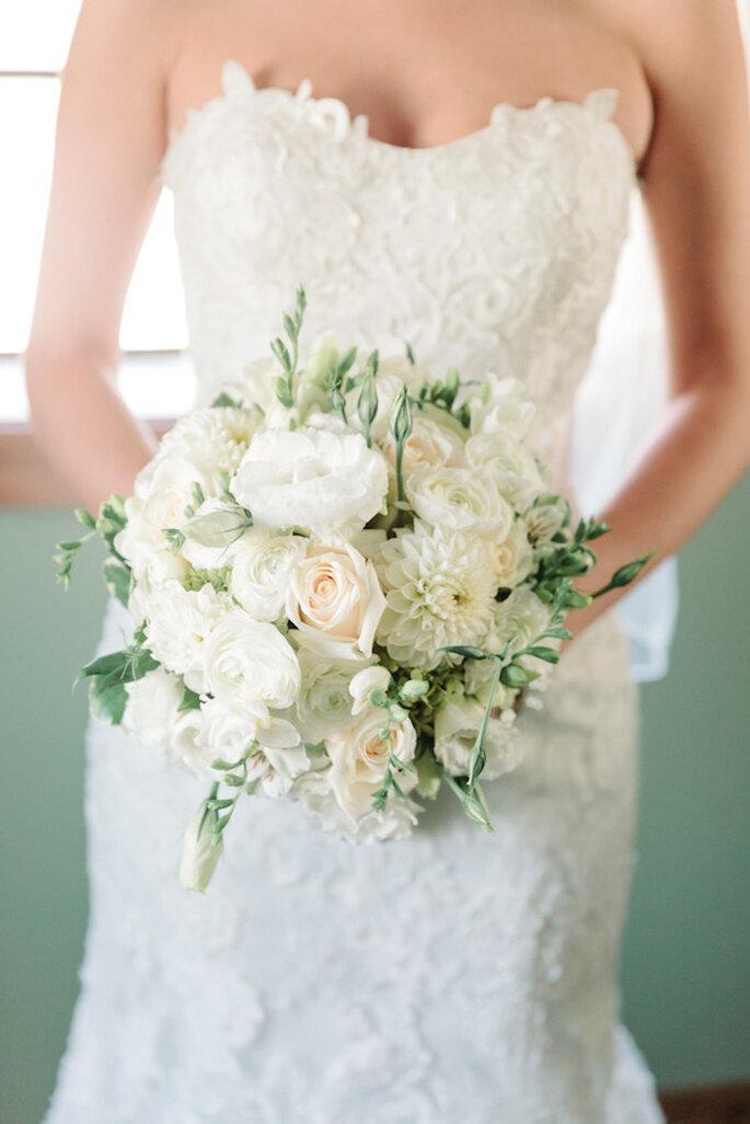 Refleja lo mejor de tu personalidad con un lindo ramo de novia - Foto Michelle Lange