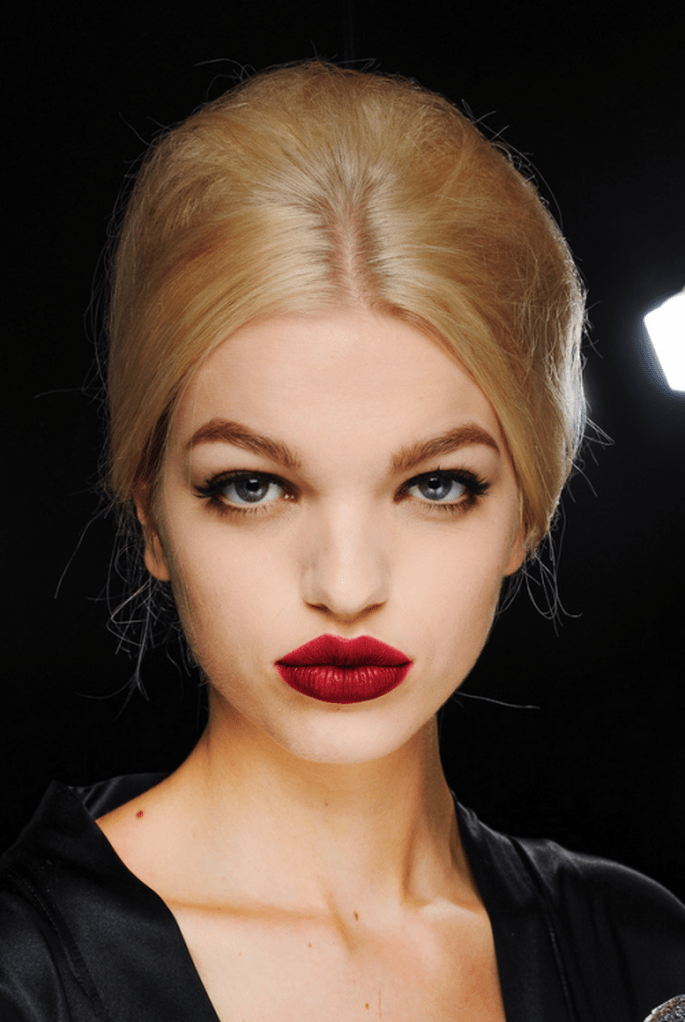 Chongo en tendencia con volumen - Foto Dolce & Gabbana