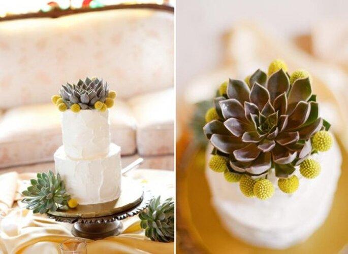 Pasteles para boda. Foto de Jen Lynne.