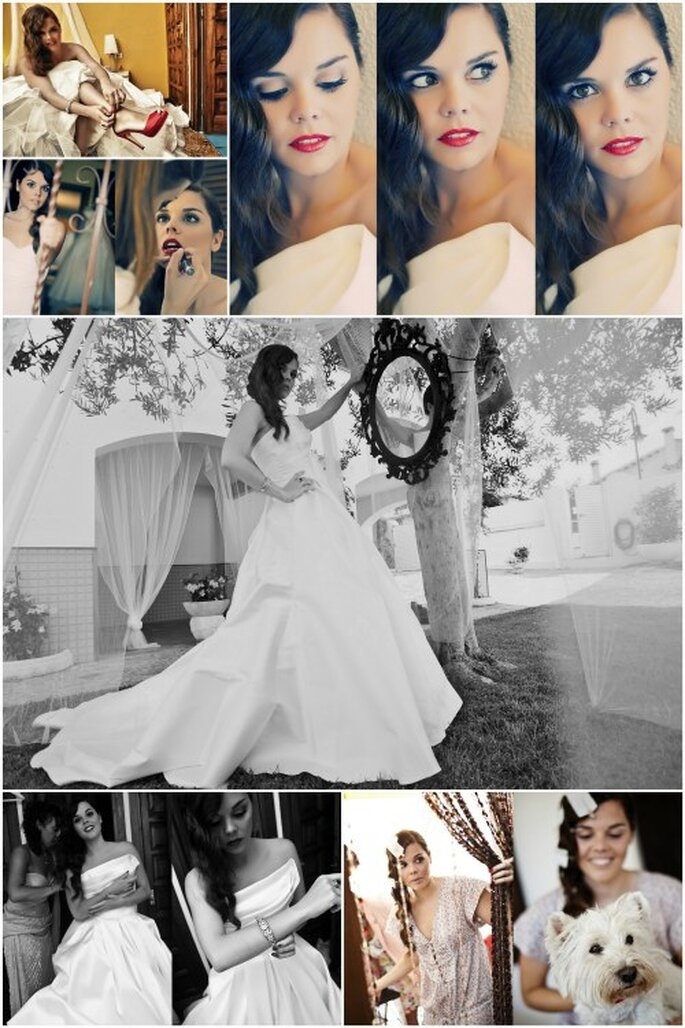 'Espejito, espejito... ¿Quién es la novia más guapa?' Foto: Punto de Vista