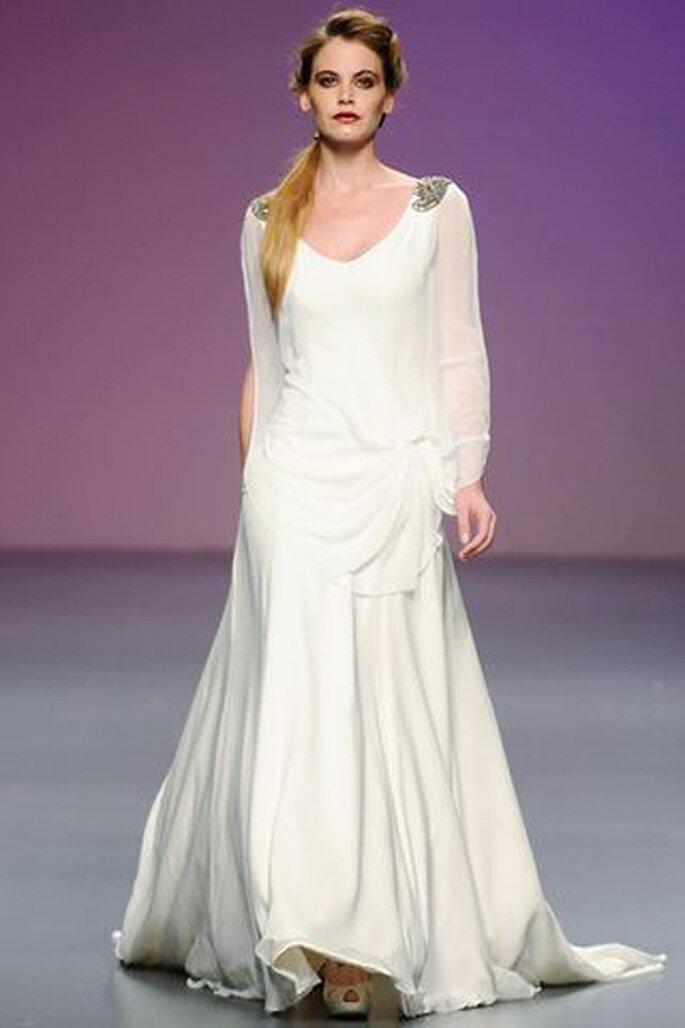 Encantador Vestidos Novia Girona Ideas Ornamento Elaboración ...