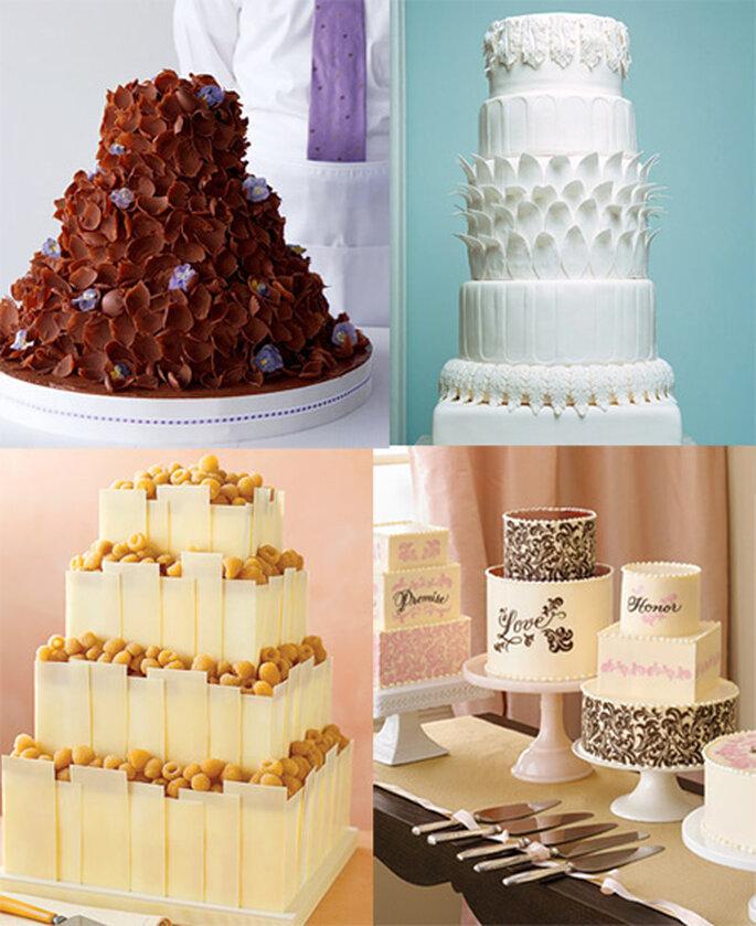 Propuestas de tartas de boda