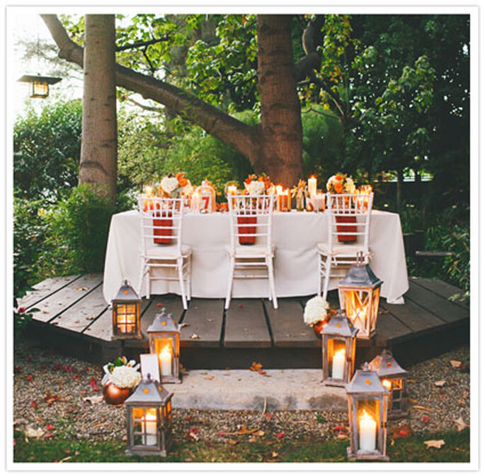 5 reasons to plan a thanksgiving inspired wedding for Fall outdoor wedding reception ideas