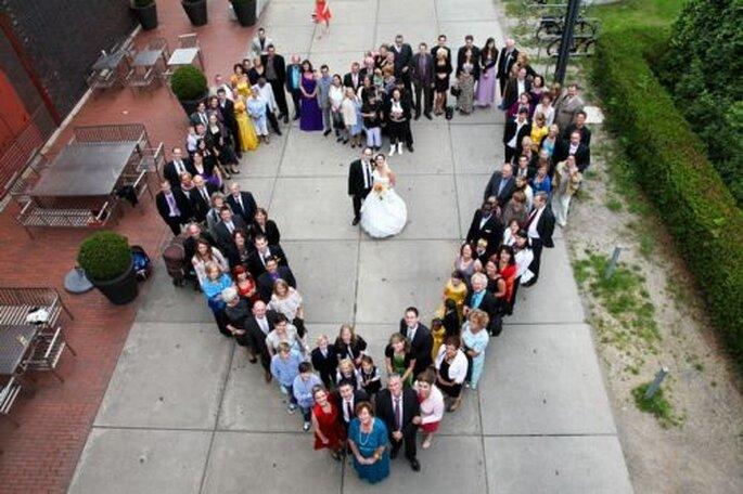 Gruppenfoto - fotografiert von der Hochzeitsfotografin Corinna Vatter aus Duisburg