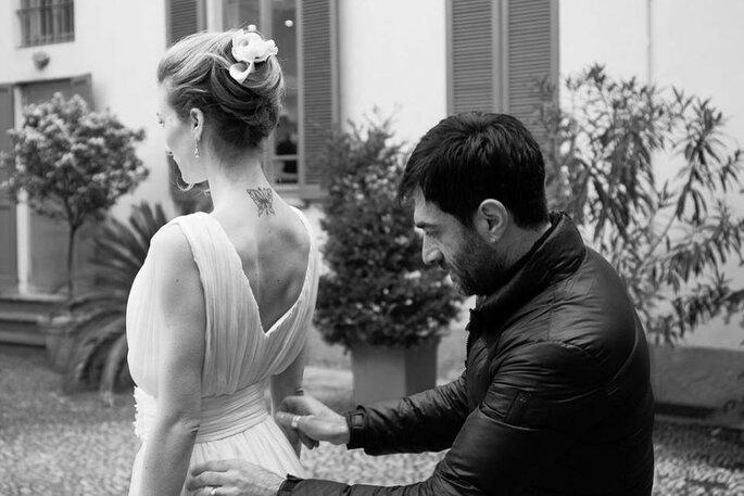 "Backstage Capsule collection ""Oggi Sposi"" - Photo credit: Diego Taroni"