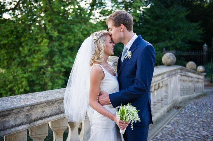 An elegant English wedding