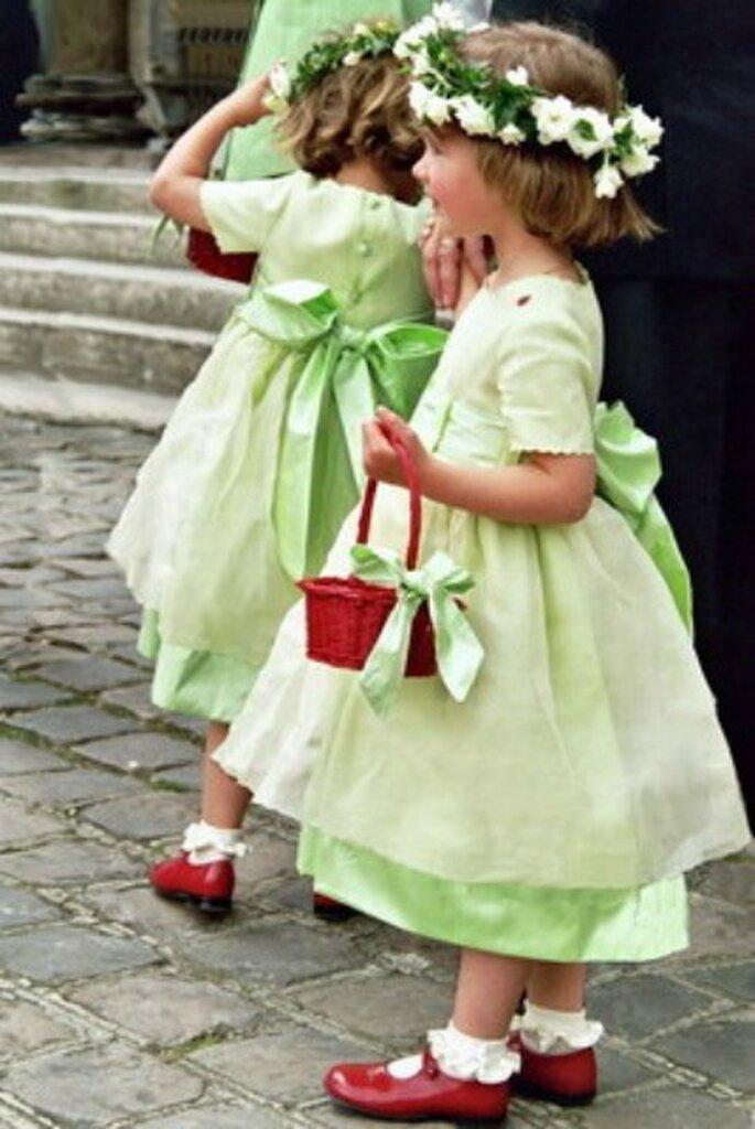 Enfants d'honneur : quelle merveille ! - source : Crinoline 2012, modèle Claire