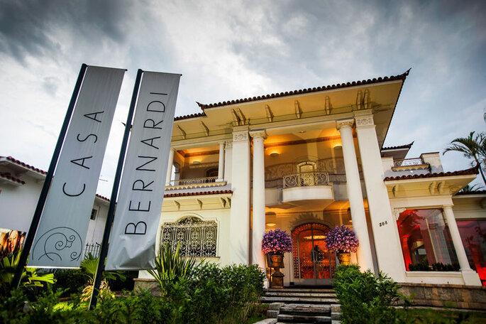 Espaço de festas Casa Bernardi em BH