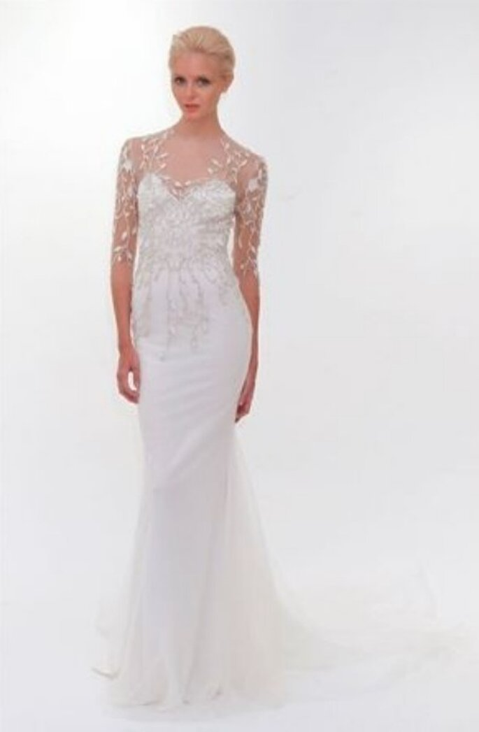 Leggiadria ed eleganza per la sposa Marchesa 2012