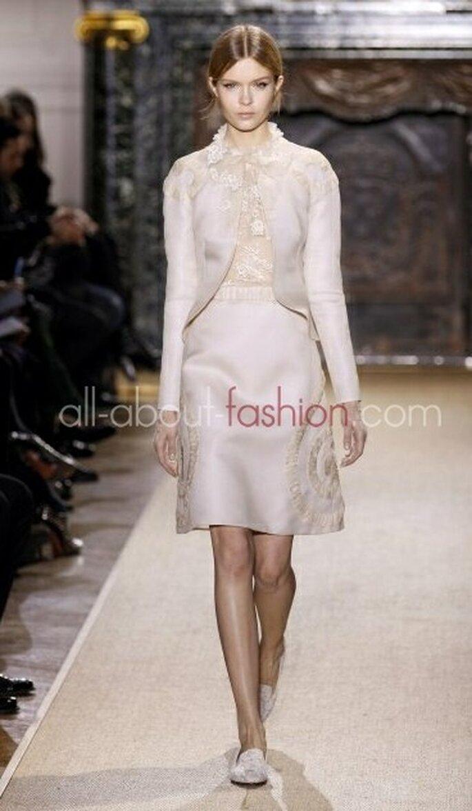 Warm und elegant: feminine Kostüme – Foto: Valentino