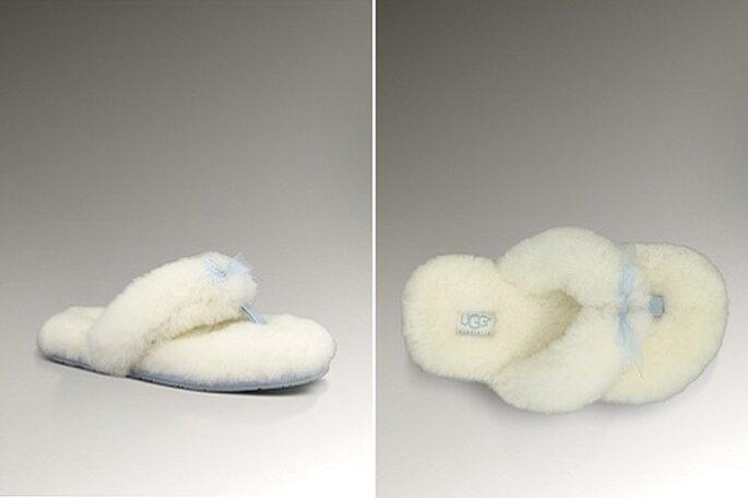 Sandale de mariée flip-flop Ugg. - Photo : Ugg