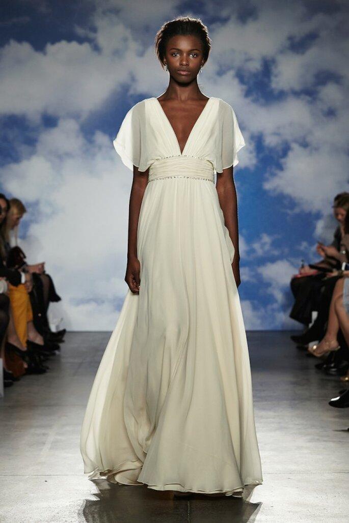 Vestidos de novia con un estilo romántico y moderno - Foto Jenny Packham