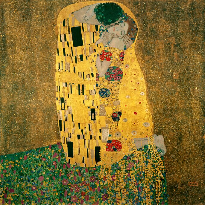 The Kiss (Klimt), Der Kuss, Gustav Klimt