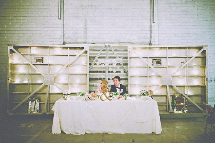 Cómo decorar una boda con estilo industrial - Cami Parker