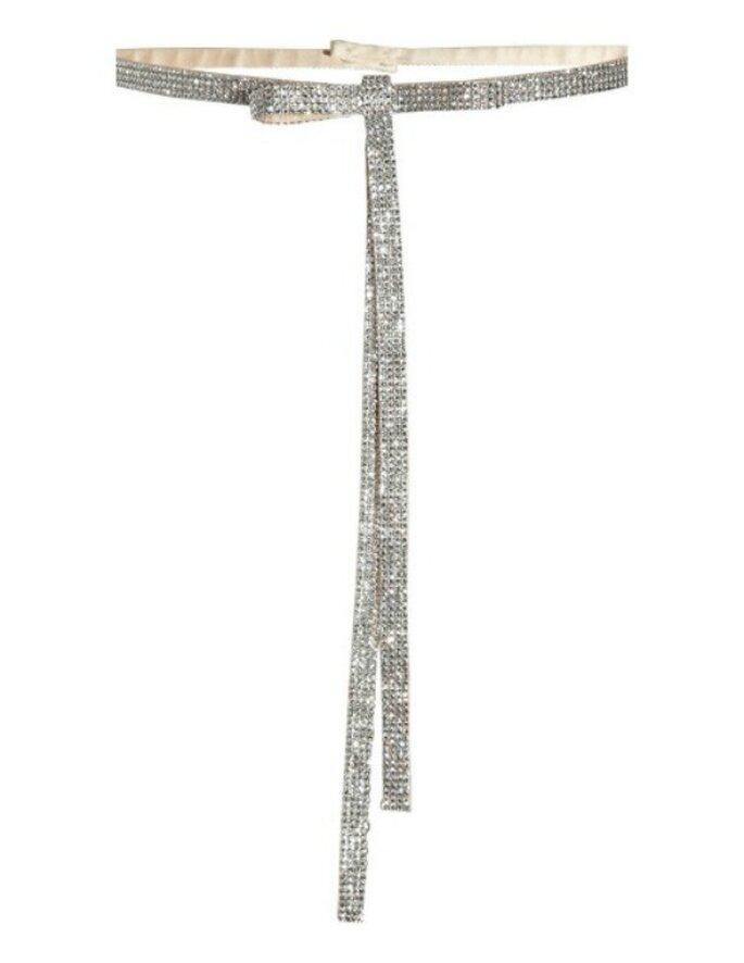 Cinturón de cristales, de Dolce & Gabbana. Foto: net-a-porter