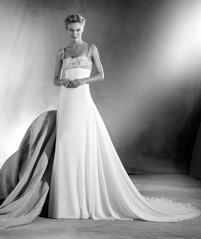 8e6b5376dc7a Vestidos de novia Pronovias 2017: los mejores diseños para el día de ...
