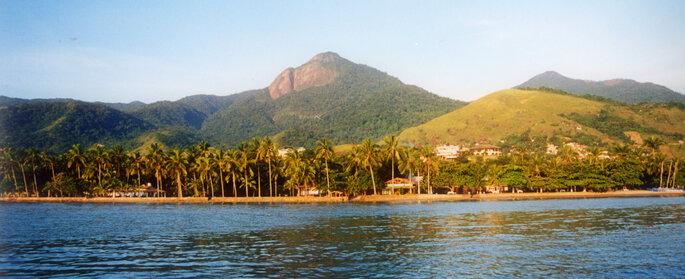 Foto: Pico do Baepi em Ilhabela - Fernando Tomatik/Divulgação