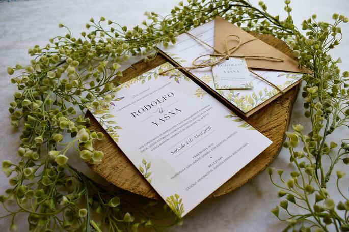 Kippis Invitaciones partes de matrimonio Santiago Metropolitana