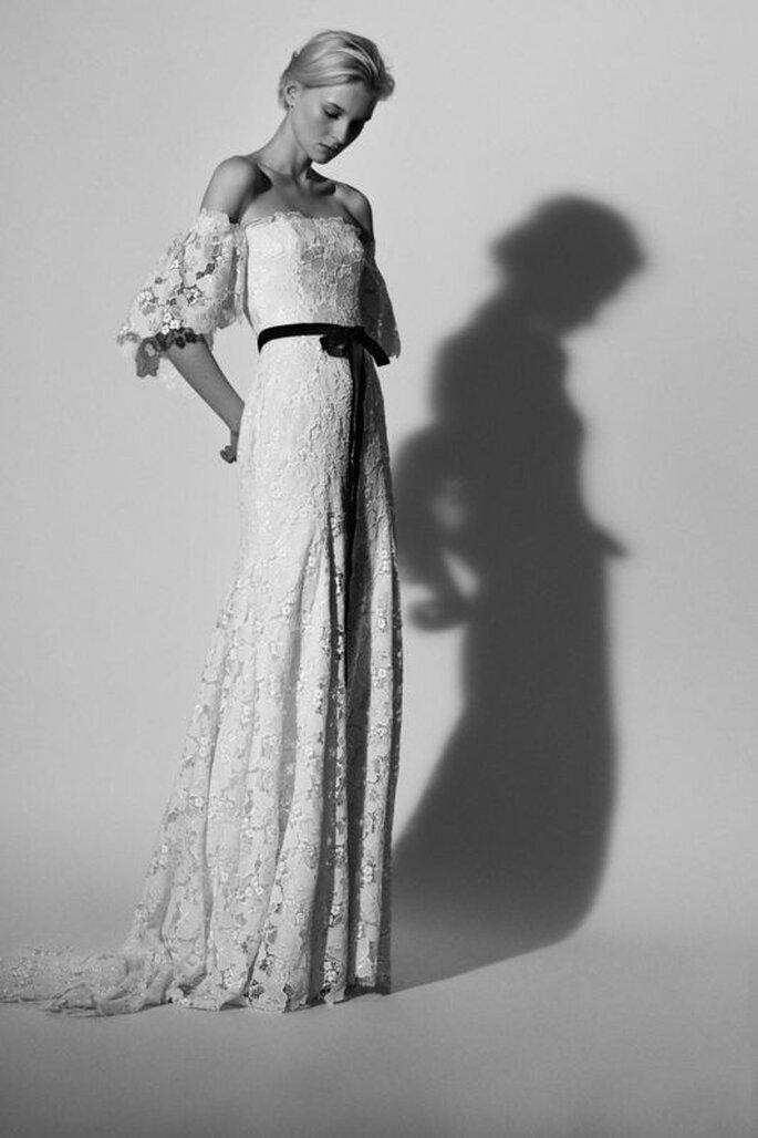 Vestidos de novia retro glam