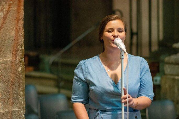 Hochzeitssängerin Lisa Belle Geneaux live