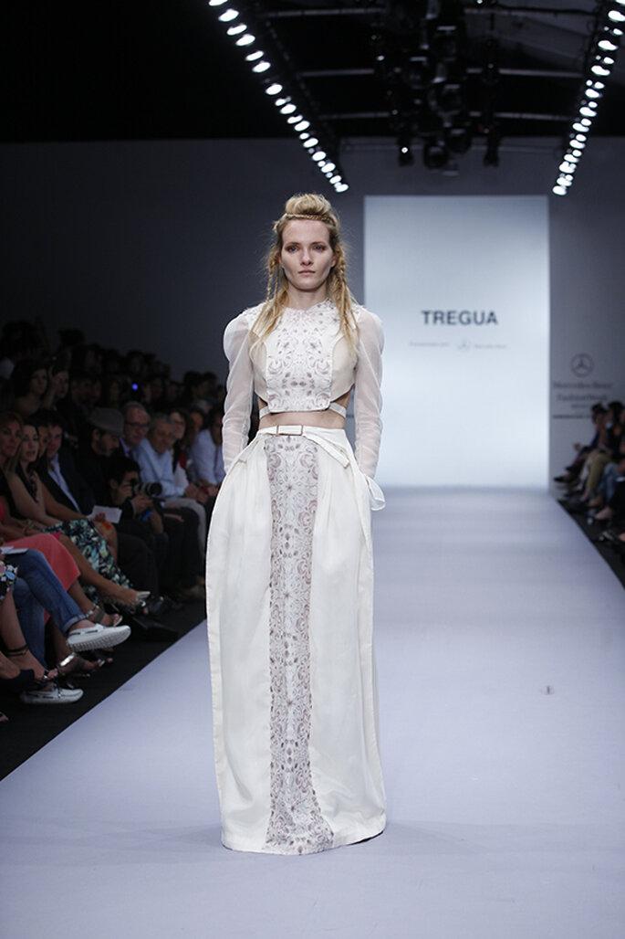 Vestidos de novia otoño 2014 Tregua - Foto Mercedes Benz Fashion Week México