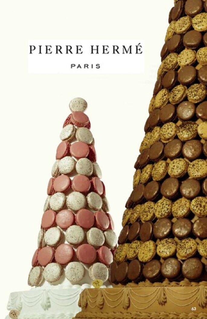 Pièce montée de macarons - Pierre Hermé