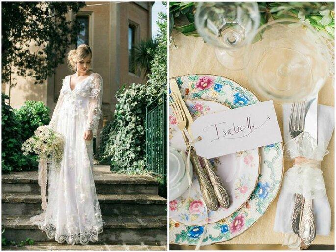 Foto via Facebook leFrufru, concept Il matrimonio Italiano