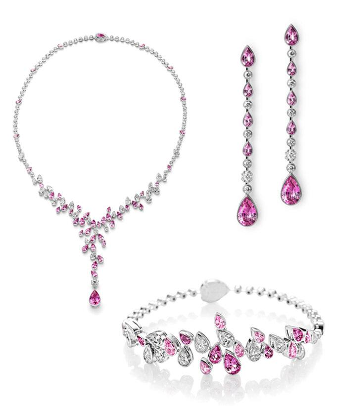 Colección Montblanc Haute Joaillerie con zafiros rosas - Foto: Montblanc