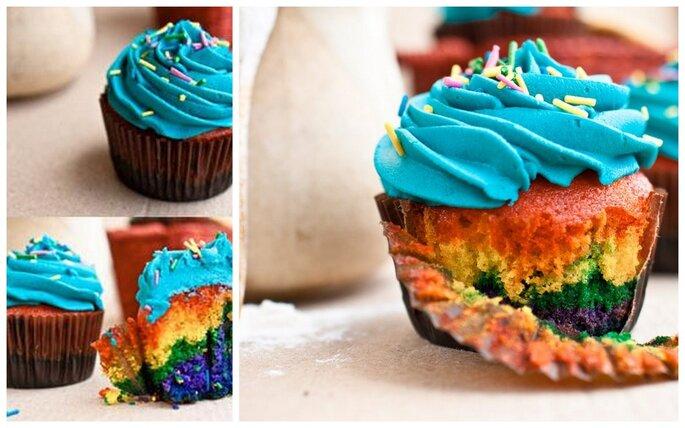 Copcakes gourmet. Foto del sitio de Miss Cupcakes.