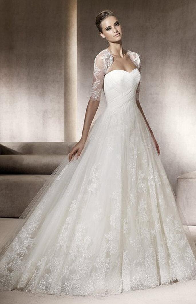 Robe de mariée Pergola - Costura - Source : Pronovias 2012