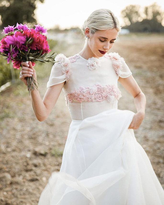 detalles rosas novia